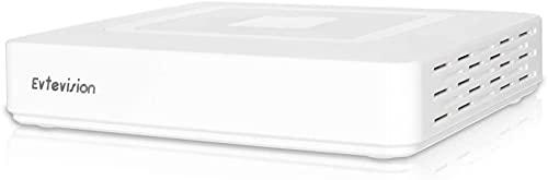 Evtevision 8CH 1080N Surveillance Video Recorder AHD/TVI/CVI/960H Hybrid DVR Onvif NVR Support Remote Access via Smartphone,Motion Detection(No Hard Drive)