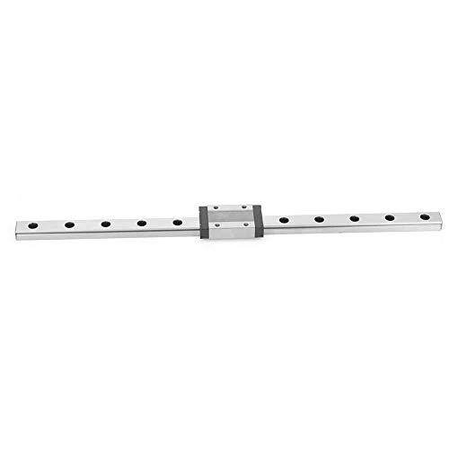 Linear rail guide with a width of 12 mm, linear slide rail, for DIY 3D printers(300mm)