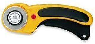 The maximum sharpness / Made in Japan /OLFA 45 mm tungsten steel Ergonomic Rotary Cutter & 45mm Rotary Blade Refill, 1-Pac...