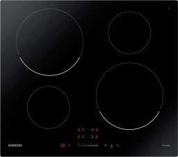 Samsung - Piano cottura ad induzione NZ64T3707AK finitura vetroceramica nero da 59cm