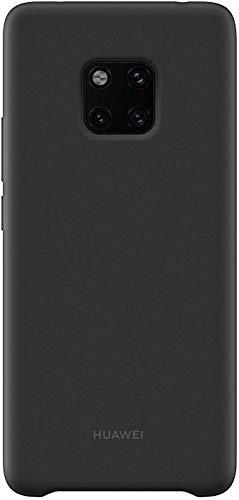 Huawei 51992668 Silicone Hülle, passend für Mate 20 Pro, Black