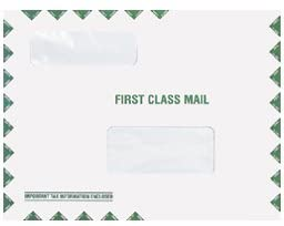 EGP Double Window Max 41% OFF Tax Organizer and Mailing Peel Seal Envelope Outlet sale feature