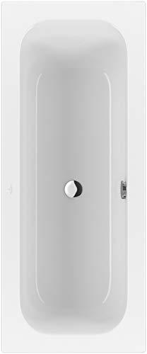 Villeroy & Boch Badewanne Rechteck Loop & Friends 1700 x 700 weiß alpin Solo mit eckiger Innenform,