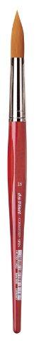 DA VINCI 5580Series Water Colour Brush, Fibra Sintetica, Rosso, 25.5x 1.05x 30cm