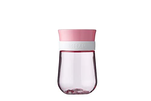 Mepal Mio – 360° Trinklernbecher deep pink – Trinklernbecher ab 9 Monate – auslaufsicher – spülmaschinengeeignet