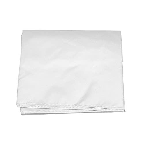 Kirmax Cubierta para Lavadora PortáTil, Cubierta para Lavadora Secadora de Carga Superior, Resistente al Agua para Lavadora Completamente AutomáTica/Lavadora de Ruedas
