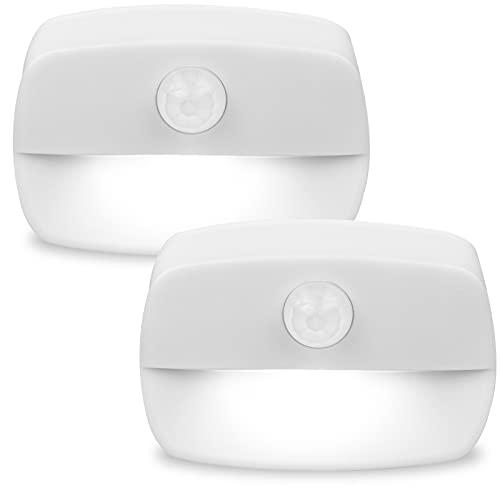 [2 unidades] Pasillo luz de noche ,luz nocturna LED con sensor de movimiento para dormitorio,...