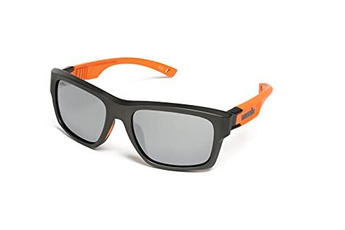 zerorh+ RH907S07 Sunglasses, Grigio Arancione, 56 18 125 Mens