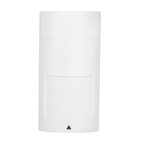 Janhiny Rilevatore di movimento a infrarossi cablato a parete e microonde Sensore di movimento PIR a doppia tecnologia Uscita NC per sistema di allarme di sicurezza antifurto domestico