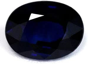 GemsNY 1.34 Carat Natural Oval Department store New Free Shipping Blue Sapphire