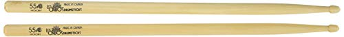 Los Cabos LCD55ABH 55AB Hickory Drumsticks, Weiß