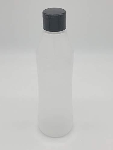 エアレスハクリボトル(抗酸化容器)スクイズタイプキャップ付 HK-S450 500ml 2重剥離構造ソフトボトル 2個