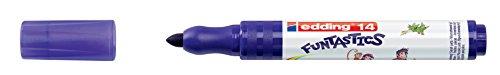 edding Fasermaler Filzstifte e-14 FUNTASTICS, Violett, ca. 3 mm