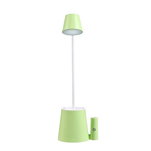 WangchngqingTD Flexo Led Escritorio, Touch Dimmer - Lámpara de mesilla de noche, cuello de cisne, lámpara de mesa LED regulable por USB, recargable, lámparas de mesa que cuidan los ojos, for niños, ni