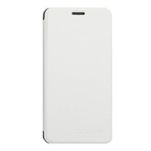 Cases for Phone for UMI Z Spring Texture Horizontal Flip Leather Case with Holder(Black) (Color : White)