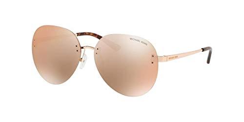 Michael Kors MK1037-1108R1 Gafas, ORO ROSA, 60/14/140 para Mujer