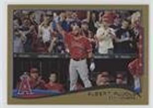 Albert Pujols; Checklist #485/2,014 (Baseball Card) 2014 Topps Update Series - [Base] - Gold #US-1