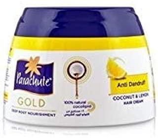 Parachute Gold Hair Cream Anti Dandruff - 4.7 fl.oz. (140ml) - Contains Lemon And Coconut
