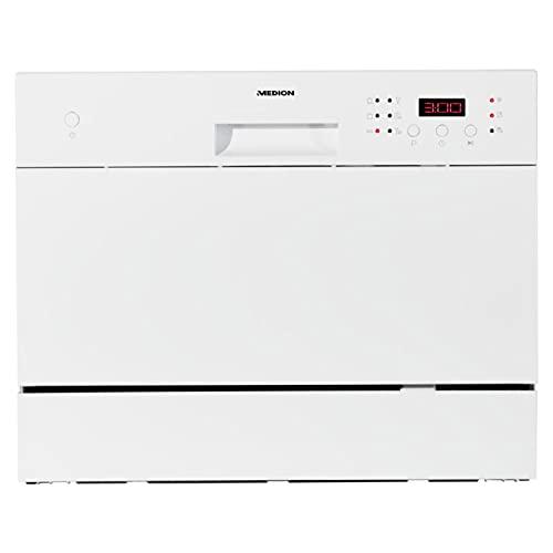 Lave-vaisselle de table MEDION (6 couverts, 6 programmes de nettoyage, programme ECO, affichage LED, 51 dB, MD37210)