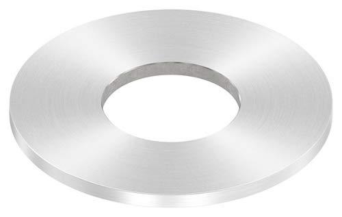 Ø40mm Aluminium Schilder Ronden blanko ohne Beschriftung
