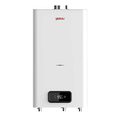 Giatsu - Calentador Estanco Gas Butano 11 Litros Dual - Bajo Nox