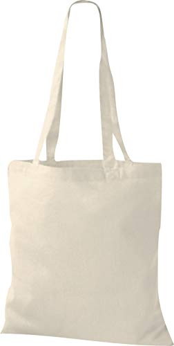 Shirtinstyle - Bolso de tela para mujer beige natural