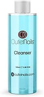Cleaner para Gel 100ml Azul - Aroma Coco - Eliminar la capa pegajosa de geles UVEsmaltes permanentesEsmaltado Permanente...