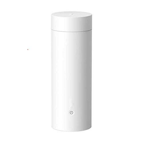 400ML Mini draagbare verwarmingsbeker Roestvrijstalen isolatie Thermosfles Elektrische reisbeker