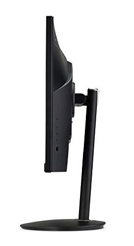 Acer Nitro XF2 (Nitro XF272UP) 69 cm (27 Zoll) TN ZeroFrame Monitor Matt (2xHDMI, DP, USB Hub 3.0, WQHD 2560 x 1440, 1ms GTG, 144Hz, bis zu 400 Nits, HDR, Delta E<2, FreeSync) schwarz