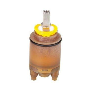 Nobili rubinetterie RCR280/D Cartuccia con Distributore, Diametro 28, Cromo