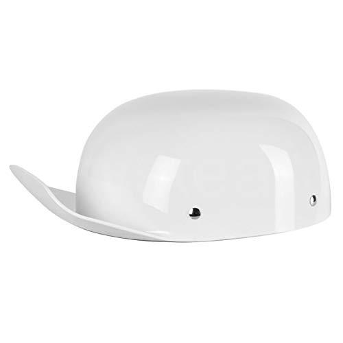 Helmet Bike Adultmotorcycle Helmet Bike Bicycle Baseball Cap Helmet Half Helmet Cycling Helmet For Men Women Adults Bicycle Equipment XXXL D-White