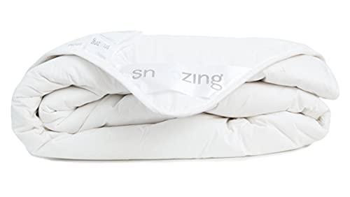 Snoozing Diamond - Couette - 100% Laine - 140x200 cm - 1-personne - Blanc
