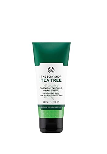 The Body Shop - Arbre A The Gommage Purifiant 100ml Convient Aux Peaux A Imperfections Tea Tree Squeaky Clean Scrub For Blemished Skin 100ml