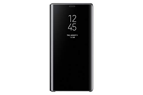 Samsung Galaxy Note9 Case, S-View Flip Cover with Kickstand, Black - EF-ZN960CBEGUS