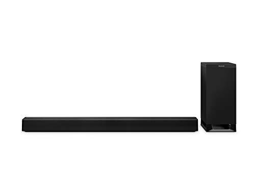 Panasonic SC-HTB700EGK 3.1 Soundbar System mit Dolby Atmos (Bluetooth Subwoofer, Multiroom Soundbar, HDMI ARC, 4K Soundbar, 376 Watt RMS) schwarz