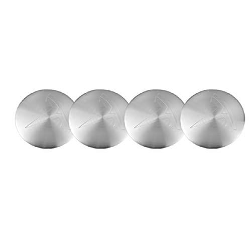 4 unids 56mm coche rueda centro cubierta pegatinas cubo tapa emblema insignia para Tesla modelo 3 modelo X modelo S modelo Y accesorios