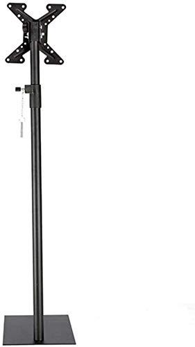 MU Tabla Giratoria Tv Tv Stock Stand Stor de Tv de Acero Inoxidable Soporte de Piso con Trastero para 40 85 Pulgadas Tv Black Tv Suelo de Pie Hasta 70 Kg Ng,Estilo # 1