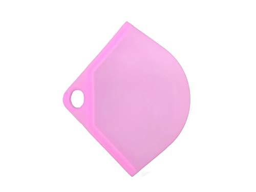 Caja Porta Mascarillas, para Mantenerla Limpia e Higiénica, cierra hermética, hecha en silicona. (Rosa)