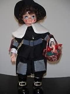 1986 Brinn's Dolls November Calendar Clown black