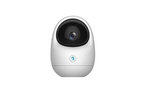 Intelligente cane Pan/Tilt Smart Security Wireless wifi ip Camera, Indoor CCTV, 360 ° Rotational View, 1080p, pulsante di chiamata inversa, Motion Track, Human Detection, 2-Way Audio