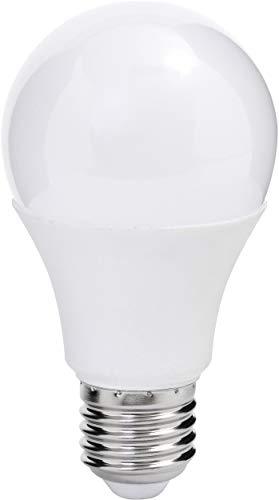 MÜLLER-LICHT 400010 A+ LED en forme de poire, 810 lm, 200°, 2700 K, plastique, 9 W, E27, blanc, 10,9 x 6 x 10,9 cm