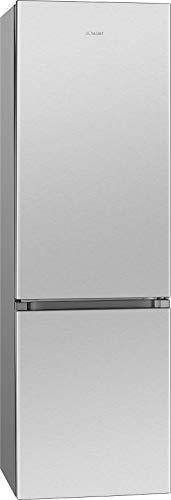 Bomann KG 184.1 nevera/congelador / 198 L / 71 L congelador / 168 kWh/acero inoxidable
