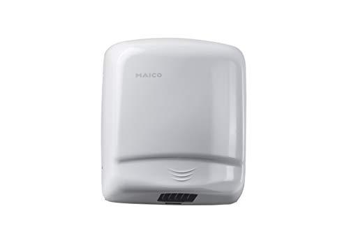Maico Händetrockner zur Wandmontage HD200 Art.-Nr. 0076.0004, integrierter Infrarot-Erkennungssensor, schnelle und gründliche Trocknung der Hände, Verpackungseinheit 1 Stück