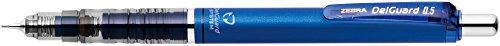 Zebra 0,5mm portamine delguard–Blu