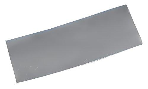 Plancha de plata de ley templada suave