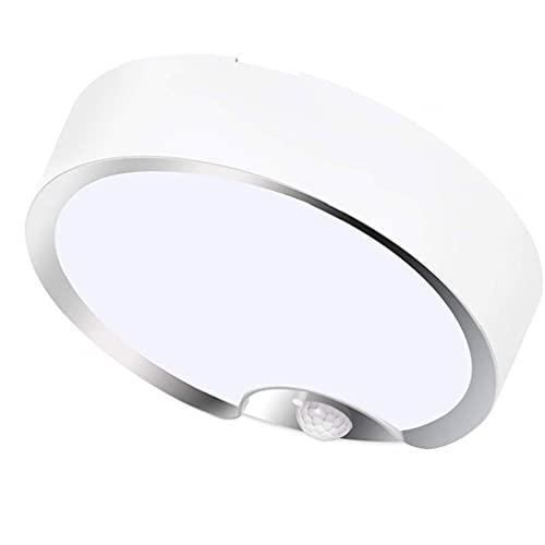Eaarliyam LED LED Sensor DE Movimiento Light BATERÍA POQUEADA POQUEADA CUCHA LÁMPULAS Nuestras DE LA Noche con EL Sensor DE LUZ para LA Escalera SÓLO DE LAVANDERÍA del Paseo DE LA Escala