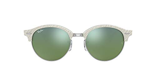 Ray-ban - Mod. 4246 - Lunettes De Soleil Unisex-Adult, top wrinkled white on white (top wrinkled white on white), taille 51