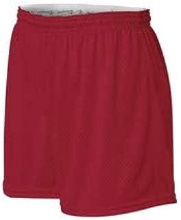 Champion Women's Active Mesh Shorts, Scarlet, Large