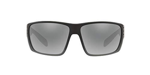 Native Eyewear Griz Polarized Sunglasses, Smoke Fade/Silver Reflex, 66 mm