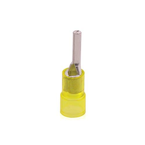 100 Stk. Stift-Kabelschuh isoliert, 2,5-6 qmm, Din 6 verzinnt, JSIQKS6-6-100